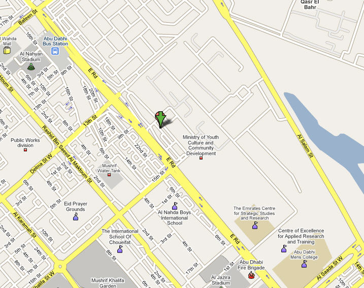 Location from JAM Systems International in Abu Dhabi